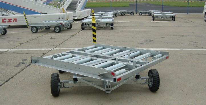 Letištní vozíky kontejnerový